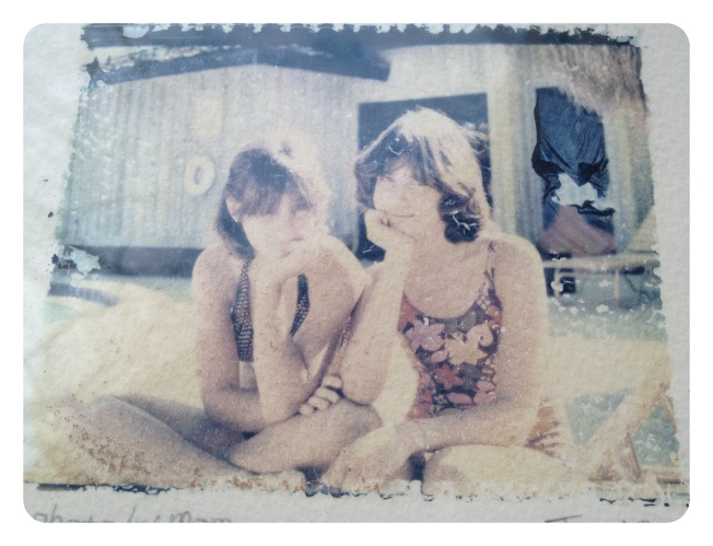 Wendy & Amy Sanibel 1978