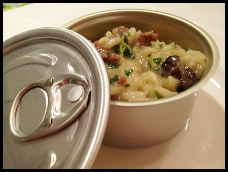 Risotto – Morel Mushrooms – Duck Sausage