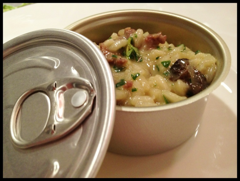 Risotto – Morel Mushrooms – Duck Sausage