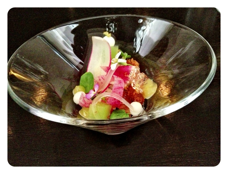 Rabbit, cherry blossom, smoke, wasabi