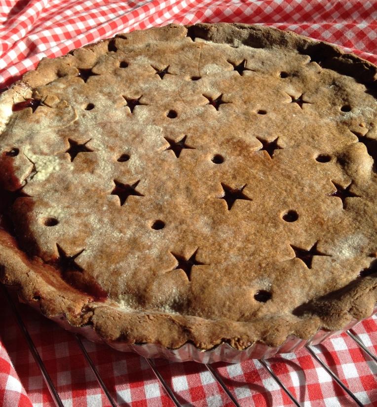 Gingerbread Linzertorte